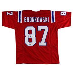 Rob Gronkowski Signed Custom Jersey - Radtke COA