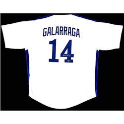 Andres Galarraga Signed Custom Jersey - Radtke COA