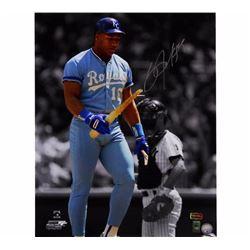 Bo Jackson Signed Unframed MLB Photo +IBM Radtke COA