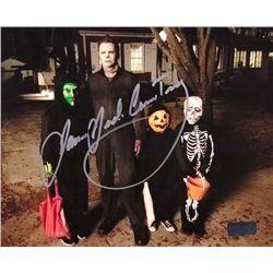 """James Jude Courtney Signed """"Halloween"""" Photo - Radtke COA"""