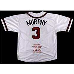 Dale Murphy Signed  Custom Jersey with Inscription - Radtke COA