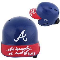 Dale Murphy Signed Mini Helmet with Inscription - Radtke COA