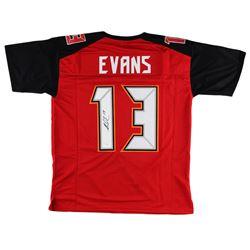 Mike Evans Signed Custom Jersey - JSA COA