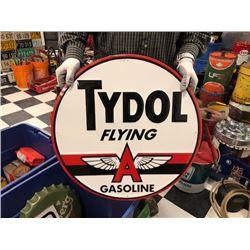 NO RESERVE TYDOL FLYING A GASOLINE SIGN
