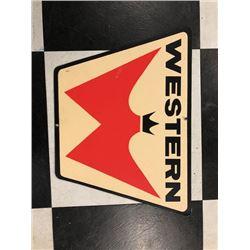 NO RESERVE VINTAGE WESTERN SIGN