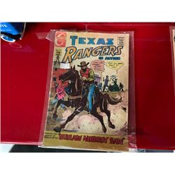 NO RESERVE VINTAGE TEXAS RANGERS COLLECTIBLE COMIC BOOK