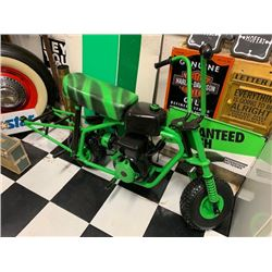 NO RESERVE 50CC MINI BIKE DISPLAY