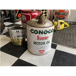 NO RESERVE CONOCO SUPER MOTOR OIL CAN