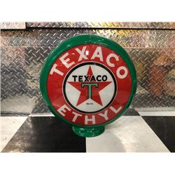 NO RESERVE TEXACO ETHYL GLOBE