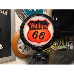 NO RESERVE PHILLIPS 66 LED COLLECTABLE LAMP