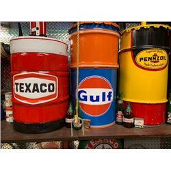 NO RESERVE GULF OIL CUSTOM GAS PUMP
