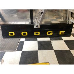 NO RESERVE VINTAGE ORIGINAL 1949 DODGE CUSTOM TAIL GATE