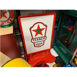 NO RESERVE LARGE FREE STANDING TEXACO COLLECTIBLE SIGN