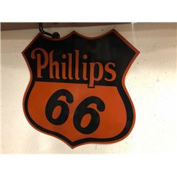 NO RESERVE LARGE PHILLIPS 66 SIGN
