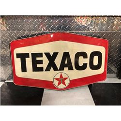 NO RESERVE LARGE TEXACO SIGN