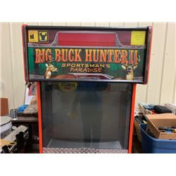 NO RESERVE VINTAGE BIG BUCK HUNTER II SPORTSMANS PARADISE VIDEO GAME SOLD AS IS
