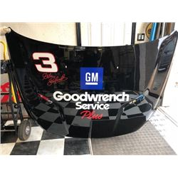 NO RESERVE COLLECTIBLE GM CAR HOOD FEATURING #3 DALE EARNHARDT