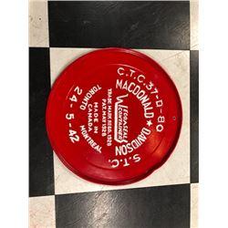 NO RESERVE MACDONALD DAVIDSON COLLECTIBLE TRAY