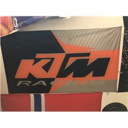 NO RESERVE KTM RACING FLAG