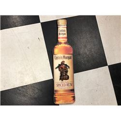 NO RESERVE COLLECTIBLE CAPTAIN MORGAN SPICED RUM BOTTLE SIGN