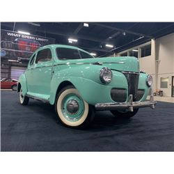 RESERVE IS LIFTED! SELLING TO THE HIGHEST BIDDER! 1941 FORD SUPER DELUXE COUPE ROTISERRIE RESTORED