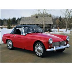RESERVE LIFTED!! SELLING TO THE FINAL BID!!  1969 MG CONVERTIBLE
