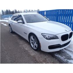 RESERVE IS LIFTED! SELLING TO THE HIGHEST BIDDER! FRIDAY NIGHT 2011 BMW 750 LI X-DRIVE