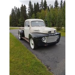 1950 FORD F1 RARE FACTORY SHORT BOX