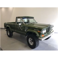 RESERVE IS LIFTED!  ITEM WILL SELL! 12:30PM SATURDAY FEATURE 1970 JEEP J2000 PICKUP TRUCK