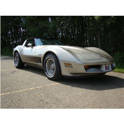 3:00PM SATURDAY FEATURE 1982 CHEVROLET CORVETTE COLLECTORS EDITION DOCUMENTED BUILD SHEET