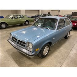 RESERVE IS LIFTED! SELLING TO THE HIGHEST BIDDER! 1978 CHEVROLET CHEVETTE TWO DOOR