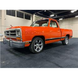 RESERVE IS LIFTED! SELLING TO THE HIGHEST BIDDER! 1986 DODGE D-150 440 CUSTOM PICK UP BIG BLOCK