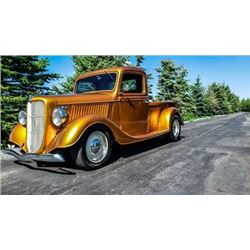 RESERVE IS LIFTED!  SELLING TO THE HIGHEST BIDDER!  1936 FORD HOTROD CUSTOM 325HP