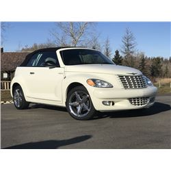 RESERVE IS LIFTED! SELLING TO THE HIGHEST BIDDER! 2006 CHRYSLER PT CRUISER CONVERTIBLE