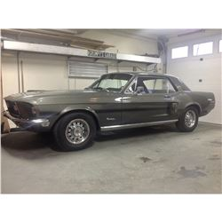 RESERVE IS MET! ITEM IS SELLING! 1968 FORD MUSTANG GT CS RARE X CODE 390 CALIFORNIA SPECIAL