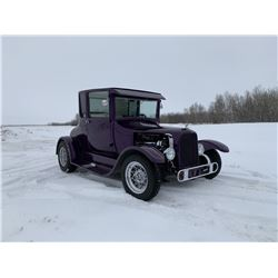 1927 FORD MODEL T CUSTOM COUPE