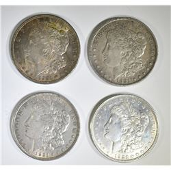 1881, 2-21 & 1-21-D CIRC MORGAN DOLLARS