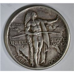 1926 OREGON TRAIL COMMEM HALF, XF