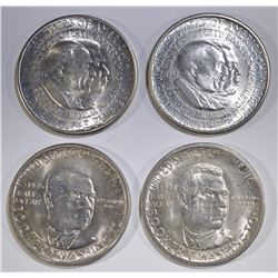 CLASSIC COMMEM HALF DOLLAR LOT: