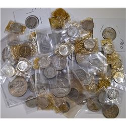 $10 FACE VALUE MIXED 90% SILVER U.S. COINS