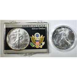 2-1994 BU AMERICAN SILVER EAGLES