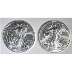 2-2020 GEM BU AMERICAN SILVER EAGLES