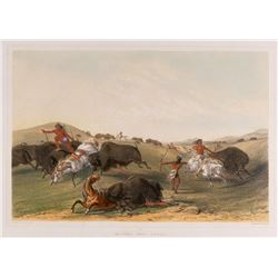 George Catlin, handcolored chromolithograph