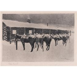 Frederic Remington, print