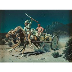 David Nordahl, oil on board