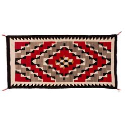 "Navajo Rug, 5'4"" x 2'7"""