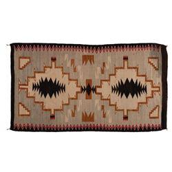 "Navajo Rug, 5'4"" x 3'"