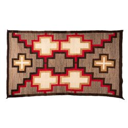 "Navajo Rug, 6'7"" x 3'8"""