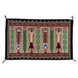 "Navajo Rug, 4'2"" x 2'6"""