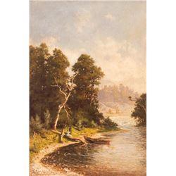 Carl Dahlgren, oil on canvas